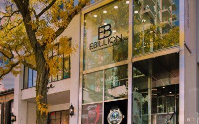 exterior of ebillion store on yorkville ave