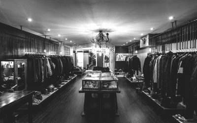 Interior of Serpentine Mens Boutique