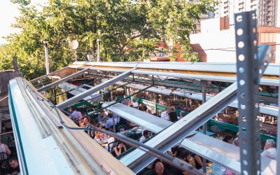 Hemingway's Toronto features an all-season rooftop