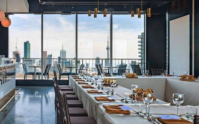 The One Eighty Dining room is a beautiful event space
