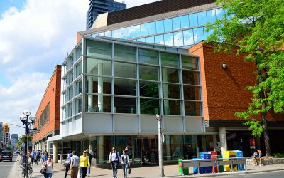 Exterior view of Toronto Reference Library
