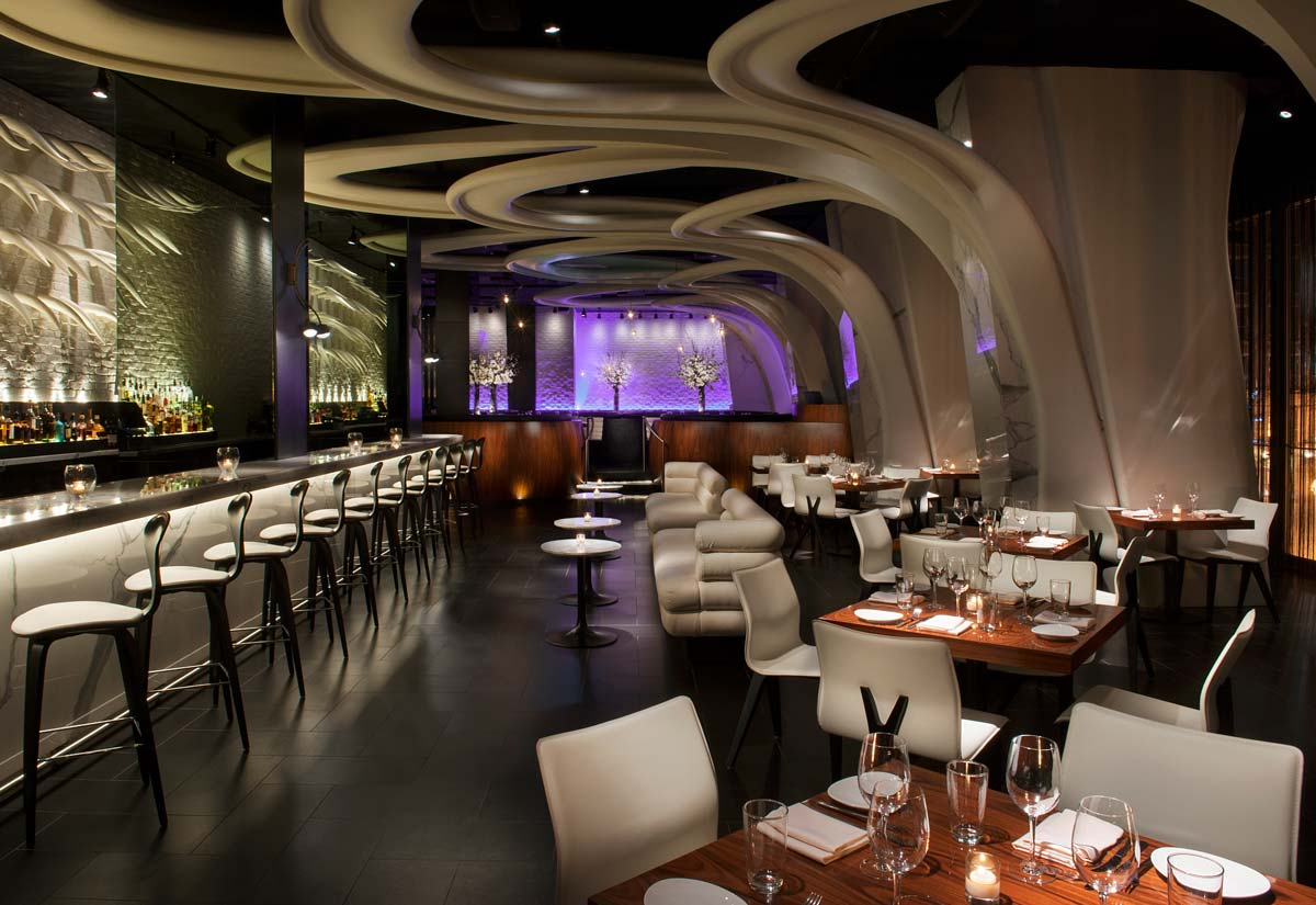 STK bar and dining room