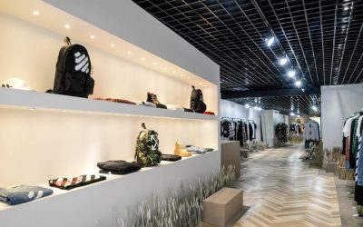 Off-White Bloor-Yorkville features accessories from the brand