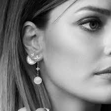 APM Monaco asymmetric earrings