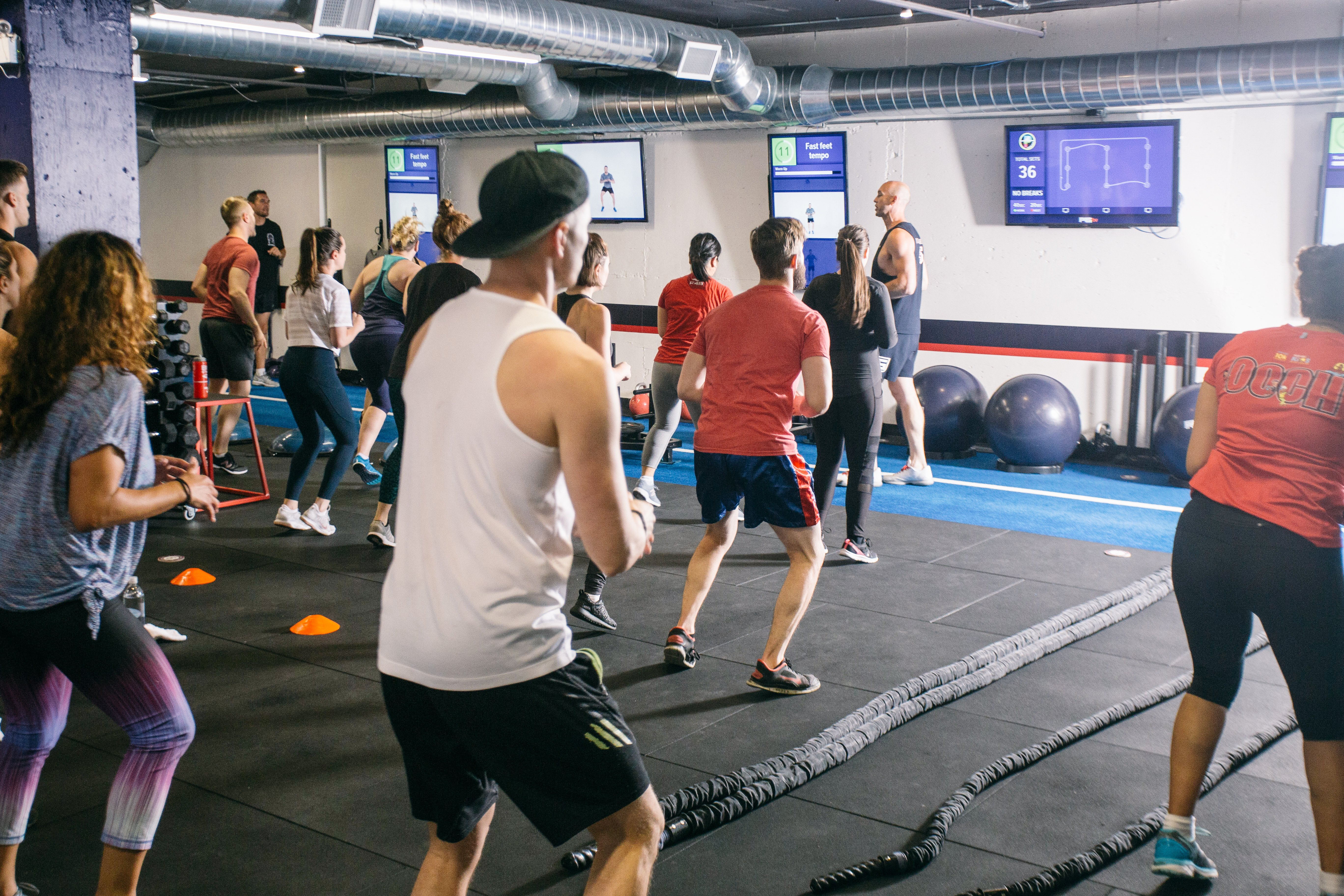 f45 group fitness class as a gift for fathers day