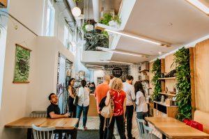 Kupfurt and Kim Yorkville - best gluten free vegan restaurant Toronto