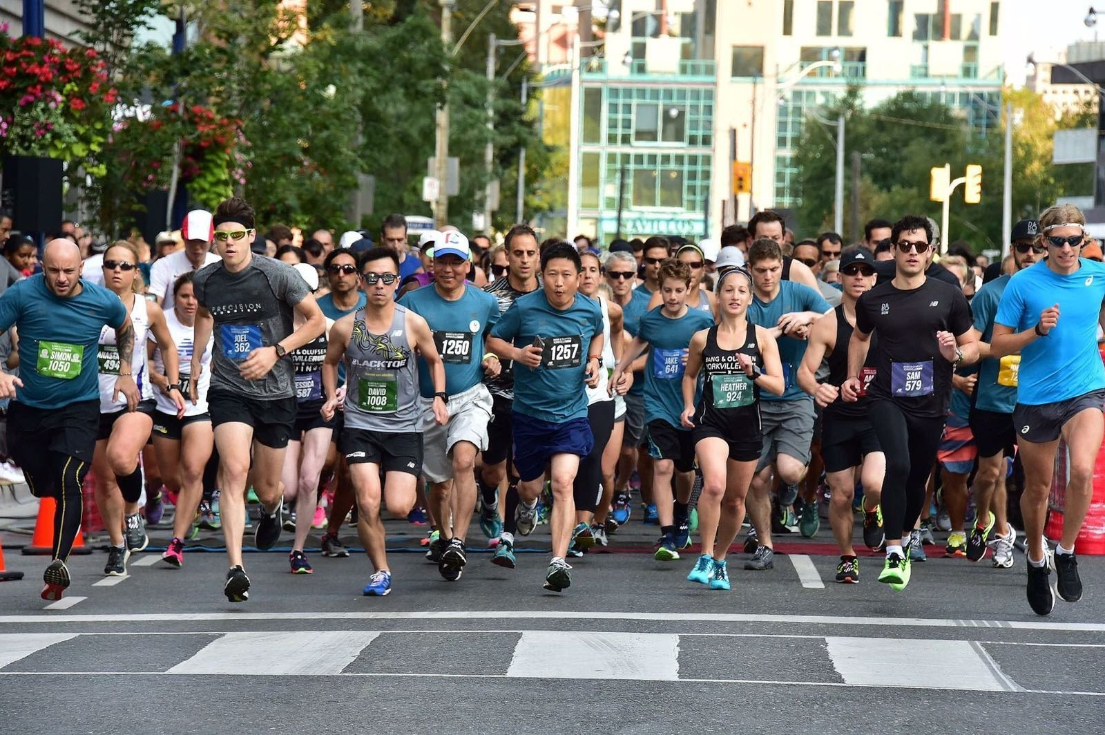 Racers of all ages participate in the B&O Yorkville charity run