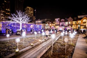 The Yorkville Christmas Lights at Holiday Magic