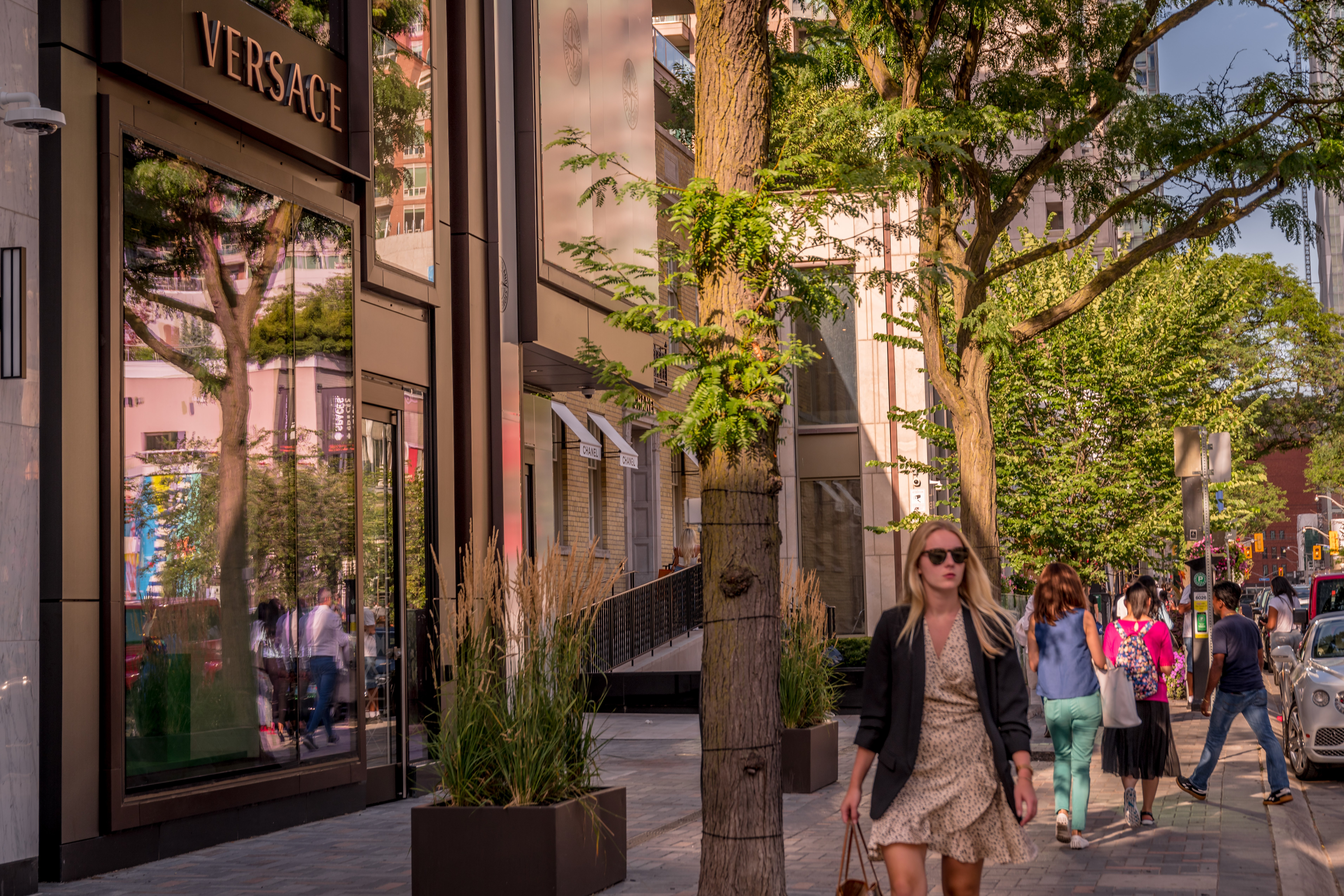 Versace flagship store in yorkville