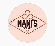 Nani's Gelato Round Logo