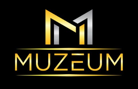 Muzeum Yorkville gold silver and black logo