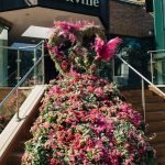 Bloor Yorkville Floral Stairs-4