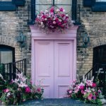 Bloor Yorkville Pink Floral Doorway-1
