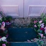 Bloor Yorkville Pink Floral Doorway-9