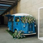 Floral Jacked up Coffee Truck-2